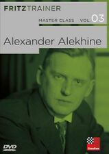 ChessBase master class Vol. 03: alexander Alekhine-English version New!!!