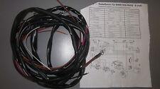Kabelbaum  für BMW R50 R50/2 R60 R60/2 R50S R69 R69S 12Volt mit Schaltplan  NEU