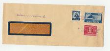 STORIA POSTALE 1949/51 REPUBBLICA REC. AUTORIZZATO L.8+5+2 B.C.I. SARZANA Z/3013