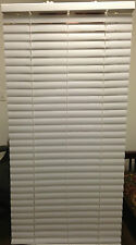 "Vinyl Mini Blinds 2"" White 29 x 60 New"