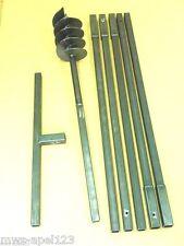 150 mm 6 m Satz Pfahlbohrer Brunnenbohrgerät Erdbohrer Brunnenbau Brunnenbohrer