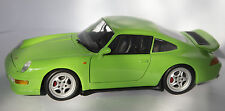 Porsche 993 RS ut 1/18 transformación verde Green