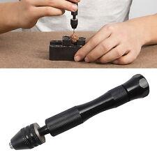 0.3-3.4mm Aluminum Manual Hand Drill Chuck Twsit Micro Drill Bit Tool Mini
