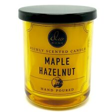 DW Home Maple Hazelnut Richly Scented Candle Hand Poured 4 Oz