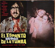 PAUL NASCHY Guía / Pressbook EL ESPANTO SURGE DE LA TUMBA (Internacional) deluxe
