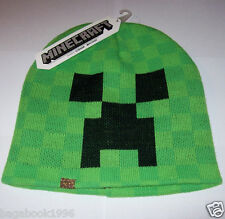Adult Minecraft Fully Licensed Creeper Face Toque / Beanie   ( NEW )  CAP46