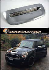 2007 up BMW MINI R56 R55 Cooper S Clubman CHROME Bonnet Air Intake Scoop Cover