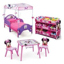 Delta Children Minnie Mouse 3-Piece Toddler Canopy Bedroom Set