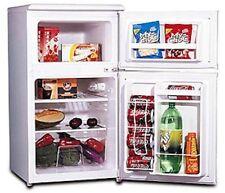 Mini Refrigerator Freezer 2 Door 3.2 Cu. Ft. White Compact Fridge Dorm Apartment