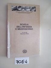 Cives SCUOLA DELL'INFANZIA E MEZZOGIORNO (70 E 4)