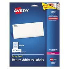 Avery Return Address Labels For Laser Printers - 5267