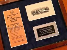 HILLARY CLINTON + BILL * PSA/DNA Authentic AUTOGRAPH Duo SIGNED *  President