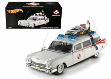 Hot Wheels Heritage 1:18 Cult Classics GHOSTBUSTERS ECTO-1 Diecast Car Model