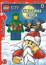 LEGO CITY: Christmas Caper Activity Book with Minifigure by Penguin Books Ltd...
