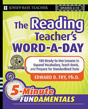 The Reading Teacher's Word-a-Day: 180 Ready-to-Use Lessons to Expand...