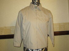 Adams Cream/beige Lightweight Boys Jacket /Anorak - Size 10 yr - New with tags