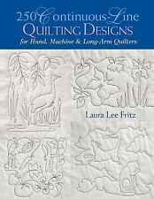 250 Continuous-line Quilting Designs for Hand, Machine & Long-arm Quilters BOOK