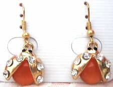 Girls Sweet Crystal Rhinestone Earrings new