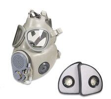 Adult Czech M10M Military Issue Gas Mask With Filter, Drinking/Hydration Tube