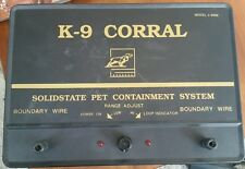 K9 CORRAL Pet Containment Main Unit ONLY! model 9000 no power supply tested