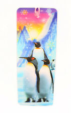 3D Bookmark Penguin Lenticular with Tassels Book Marks Cute Animal
