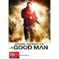 A GOOD MAN-Steven Seagal -Region 4-New AND Sealed