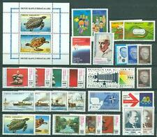 Türkei Jahrgang  1989 Nr. 2844 - 2872 ** MNH Kat. 103,70 €