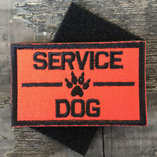SERVICE DOG K9 PET HARNESS VEST USA TACTICAL MORALE DESERT BADGE STICKER PATCH