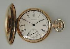 Gold Plated Waltham Pocket Watch c1913