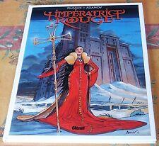Adamov - L'impératrice rouge 1 - Le sang de Saint-Bothrace - Glénat