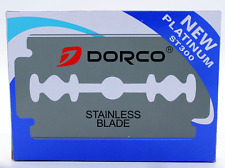Dorco ST300 Double Sided Stainless Blade - 100 Blades
