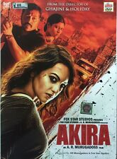 AKIRA DVD - SONAKSHI SINHA - 2016 HINDI MOVIE DVD / SPECIAL EDITION / REGION FRE