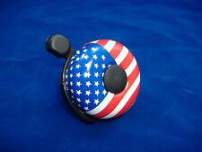AMERICAN FLAG BICYCLE BELL RINGER KIDS BIKE