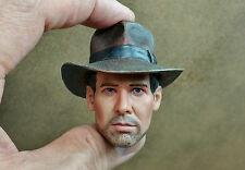 1/6 INDIANA JONES Head Sculpt DX 05 Body Jacket Pants Shirt Boots BAG Hot Toys