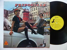 FRIPOUILLE chante  Paris la Seine Accordeon DANIEL COLIN AFA 20773 MOULIN ROUGE