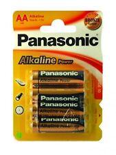 12 X PILE PANASONIC (1,5V) AA ALCALINE ALKALINAS LR6 - LR06 - LR6T/4B BATTERY