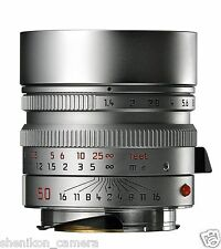 100% New Unused Leica SUMMILUX-M 50mm F1.4 f/1.4 ASPH. 6-Bit Silver M 240 11892
