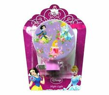 Disney Princess Cinderella Snow White Aurora Decor Kids BedRoom Night Light Lamp