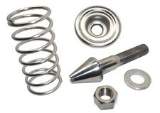 62-63 Falcon & 64 Comet Hood Latch Pin Kit, Polished Stainless Steel, NEW