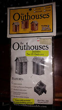 HO Wild West Models The Outhouse Kit 216