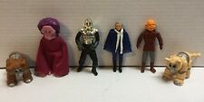 Lot Of 6 Vintage Battlestar Galactica Loose 1978 Boray Cylon Cmdr Adama Daggit