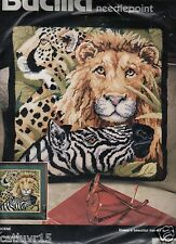 """SAFARI SCENE""  ~ Needlepoint Kit ~ BUCILLA ~ NEW ~ UNOPENED"