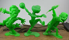 NUTTY MADS Set of 6 Green Mint Condition 1964