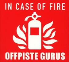 Offpiste Gurus - In Case of Fire - CD NEU