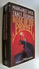 THE WILL OF THE WANDERER Weis Hickman english fantasy 1989 Rose of the prophet