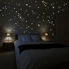 Bedroom wall stickers Decor Stars dots starry sky night Home Decal Vinyl Art