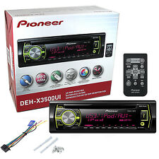 Pioneer DEH-X3500UI Car Cd Player DEHX3500UI Built iPod Control New DEHX3500UI