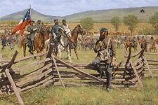 """""""The Prince and the Professor - The Valley Campaign"""" Bradley Schmehl Art Canvas"""