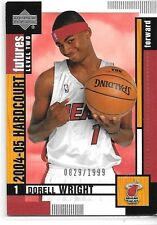 2004-05 Upper Deck Hadrcourt Dorell Wright Rookie #109 #'d 0829/1999 Heat