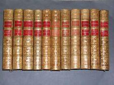 Fabre J.H Entomologie Souvenirs entomologiques 11 vol. reliure éditeur 1920 BE